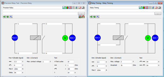 Acculogic Integrator Software Relay Timing Template