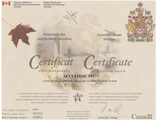 Acculogic-Controlled-Goods-Program-Certificate
