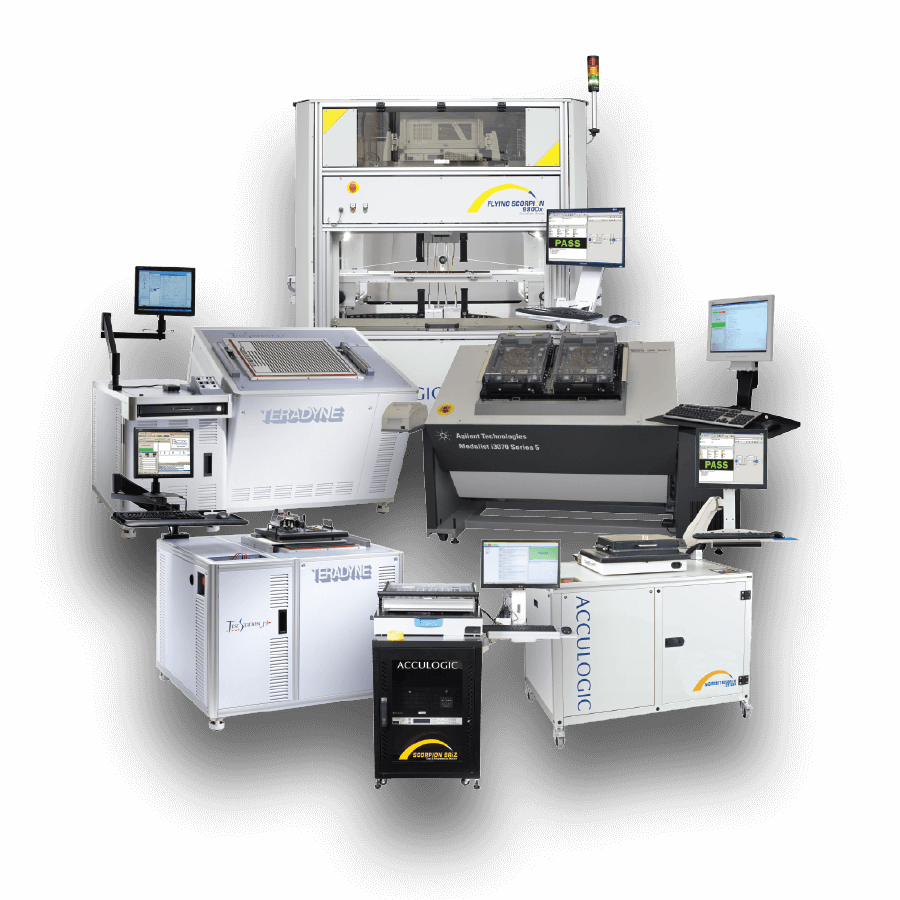 Acculogic Test Programming Services for Automated Test Equipment
