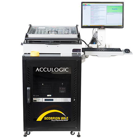 Acculogic Scorpion Briz Automated Test & Programming Station